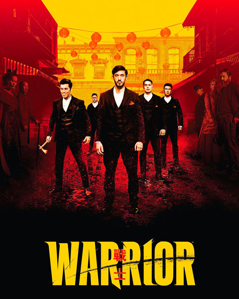 Warrior: Season 1 (HDX) Vudu Redeem