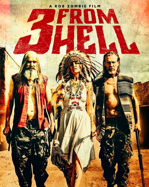 3 From Hell – Unrated (4K) Vudu Redeem