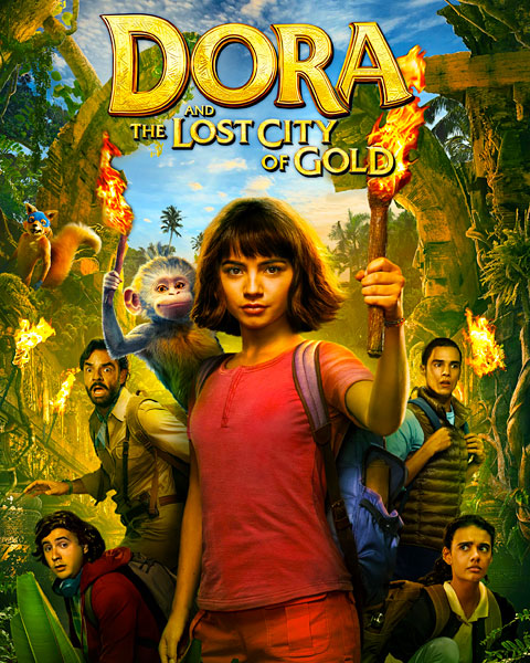 Dora And The Lost City Of Gold (4K) ITunes Redeem