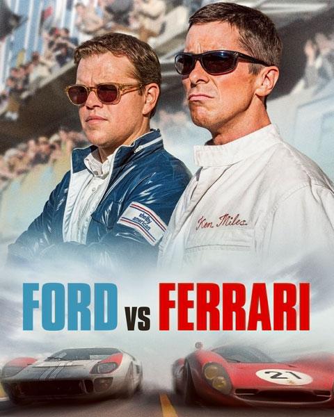 Ford V Ferrari (HD) Vudu / Movies Anywhere Redeem