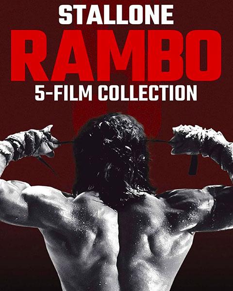 Rambo 5-Film Collection (4K) Vudu Redeem