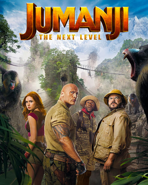 Jumanji: The Next Level (4K) Vudu / Movies Anywhere Redeem