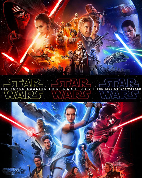 Star Wars 3-Movie Collection: Episodes 7-9 (HD) Google Play Redeem (Ports To MA)