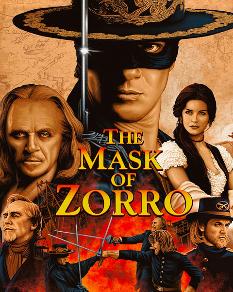 The Mask Of Zorro (4K) Vudu / Movies Anywhere Redeem