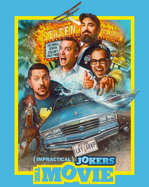 Impractical Jokers: The Movie (SD) Vudu / Movies Anywhere Redeem