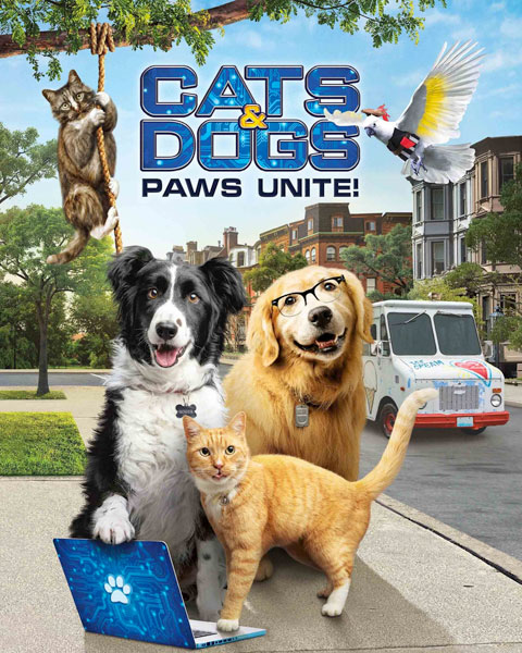 Cats And Dogs 3: Paws Unite (HD) Vudu / Movies Anywhere Redeem
