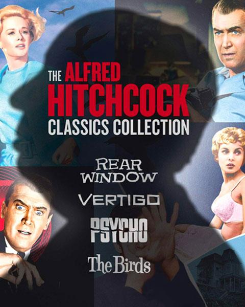 The Alfred Hitchcock Classics Collection (4K) Movies Anywhere Redeem