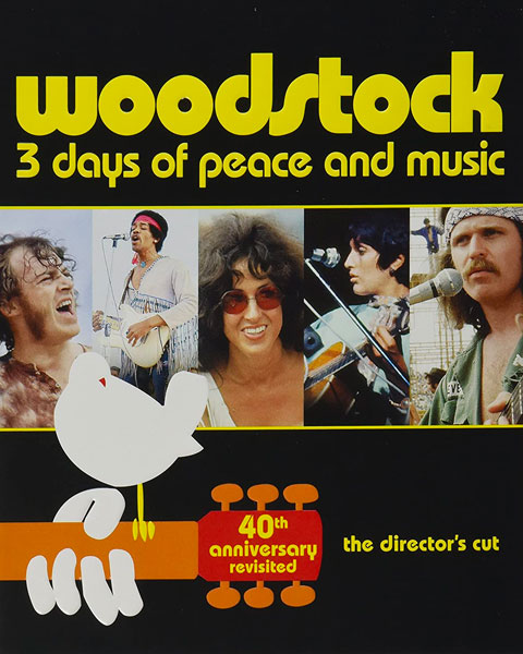 Woodstock: 3 Days Of Peace And Music – Director's Cut (HD) Vudu / Movies Anywhere Redeem