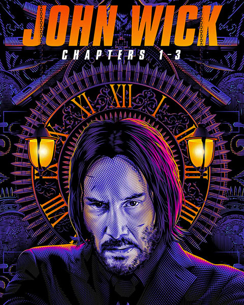 John Wick 3-Movie Collection (4K) Vudu Redeem