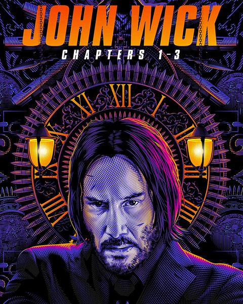 John Wick 3-Movie Collection (4K) Vudu Redeem