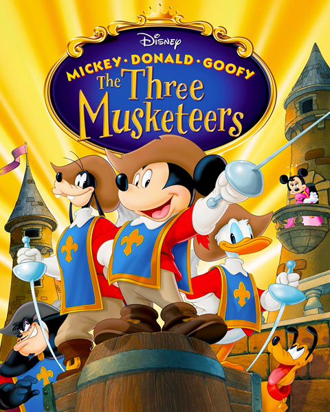 Mickey, Donald, Goofy: The Three Musketeers (HD) ITunes Redeem (Ports To MA)