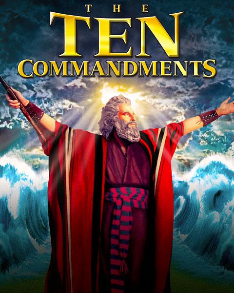 The Ten Commandments (4K) Vudu Redeem