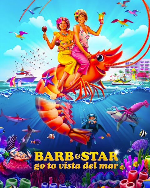 Barb And Star Go To Vista Del Mar (4K) Vudu OR ITunes Redeem