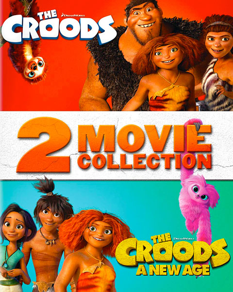 The Croods 2-Movie Collection (HD) Movies Anywhere Redeem