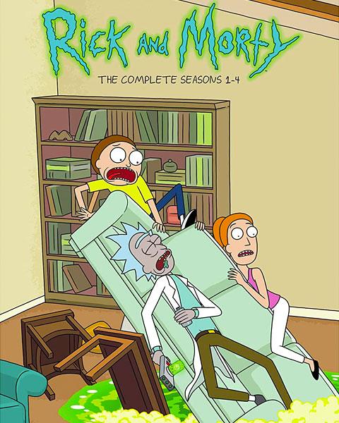 Rick And Morty: Seasons 1-4 (HDX) Vudu Redeem