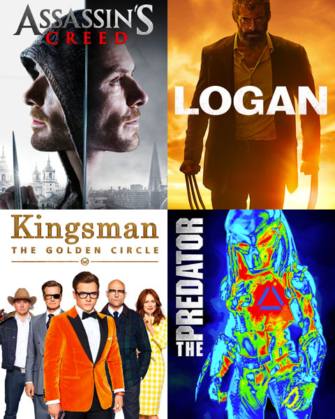 4-Film Action Bundle (HD) Movies Anywhere Redeem