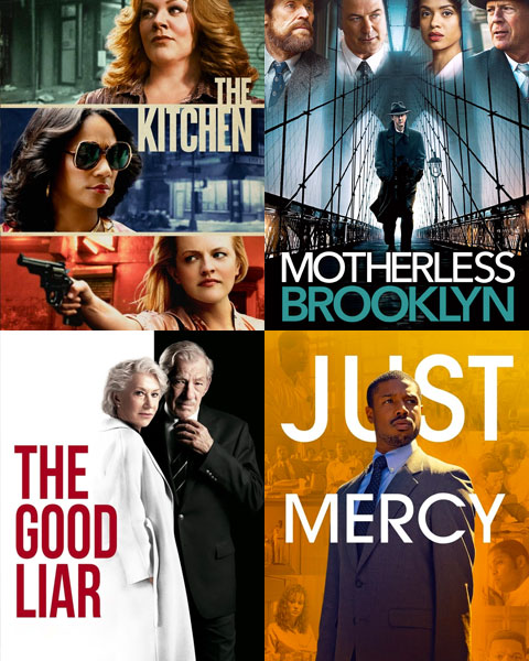 4-Film Crime Bundle (SD) Movies Anywhere Redeem