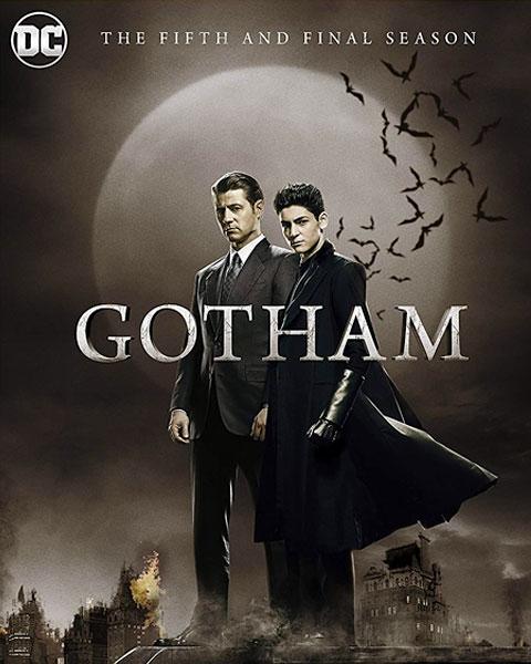 Gotham: Season 5 (HDX) Vudu Redeem