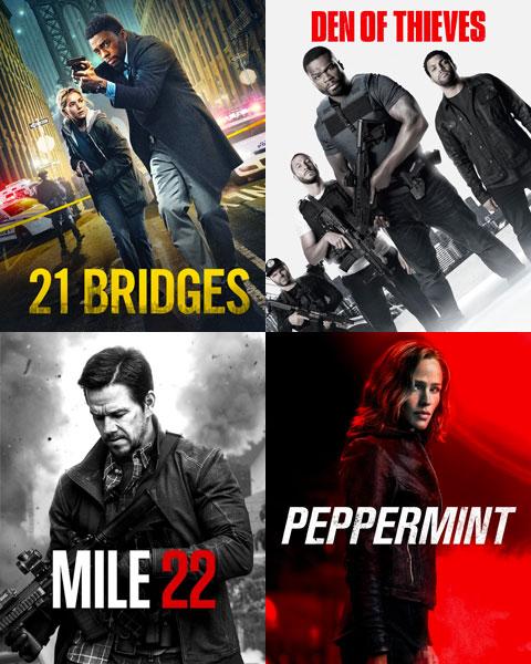 4-Film ITunes Action Bundle 1 (HD) ITunes Redeem