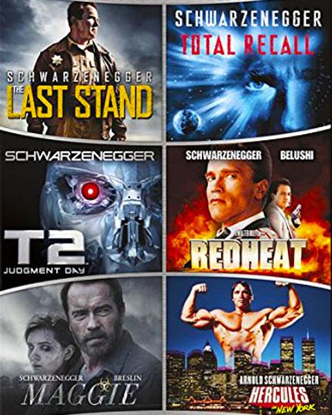 Arnold Schwarzenegger 6-Film Collection (HDX) Vudu Redeem