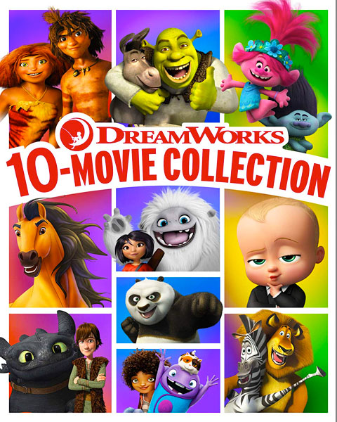 DreamWorks 10-Movie Collection (HD) Movies Anywhere Redeem