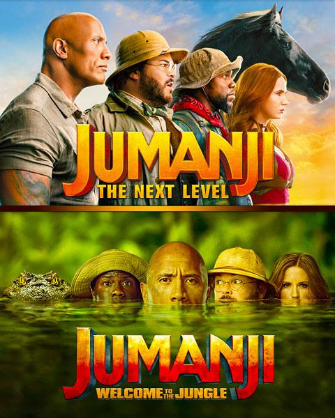 Jumanji 2-Film Collection (HD) Movies Anywhere Redeem