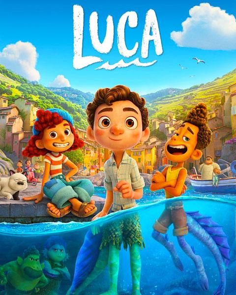 Luca (HD) Google Play Redeem (Ports To MA)