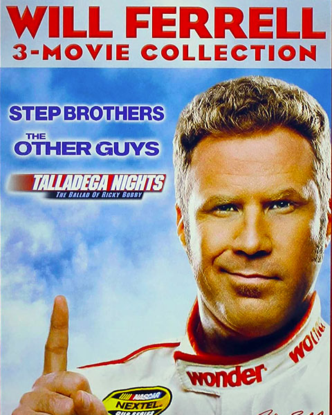 Will Ferrell 3-Film Collection (SD) Vudu / Movies Anywhere Redeem