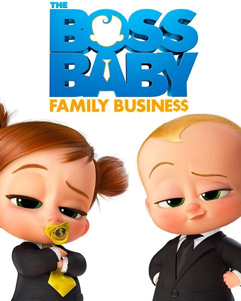 The Boss Baby: Family Business (4K) Vudu / Movies Anywhere Redeem