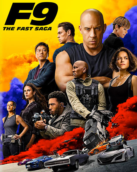F9: The Fast Saga (4K) Movies Anywhere Redeem