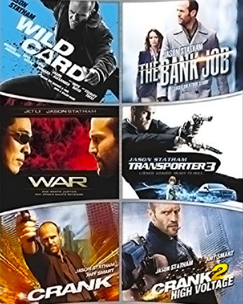 Jason Statham 6-Film Collection (HDX) Vudu Redeem
